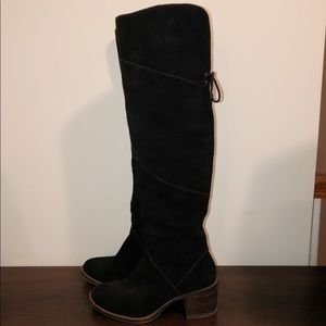 Lucky Brand Heeled Knee High Boots- US Size 8.5